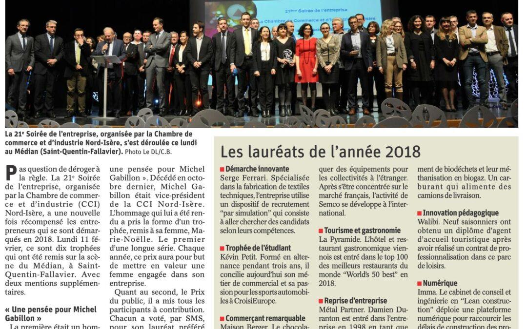 Retour sur les trophées CCI Nord Isère