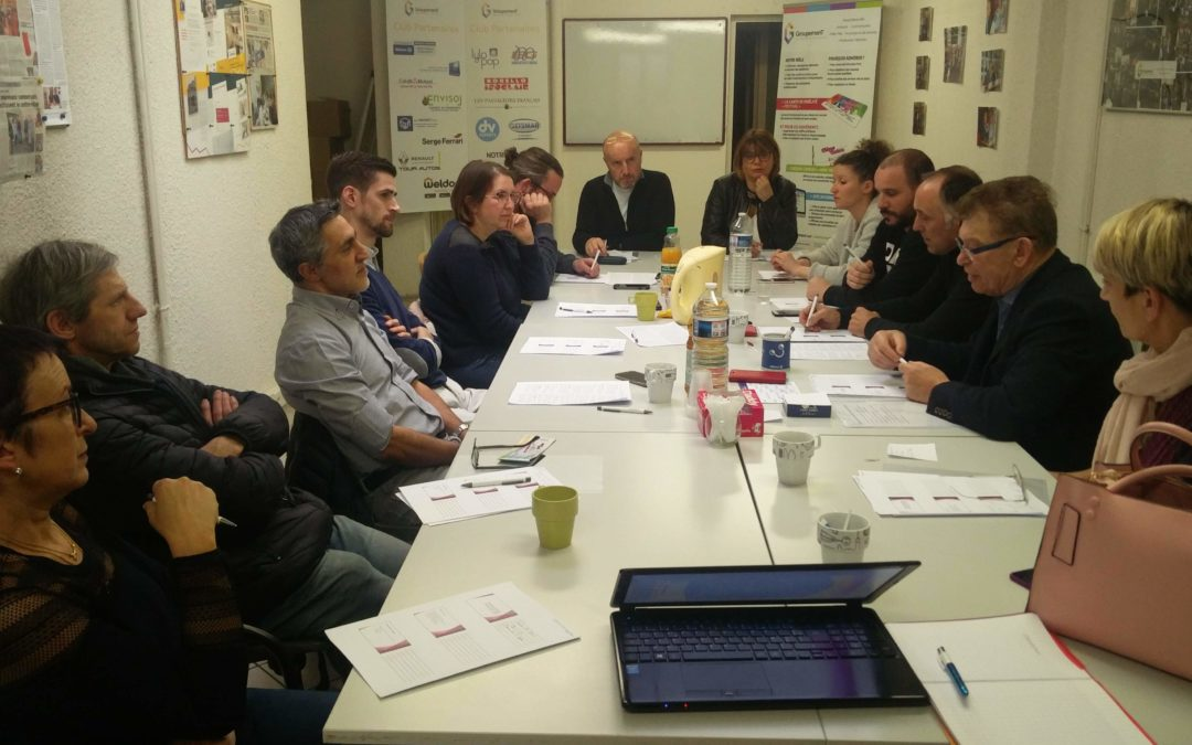 Le nouveau Bureau Exécutif du Groupement élu le 4 mars