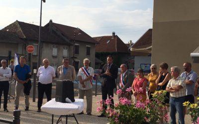 Inauguration du Coeur de village à la Chapelle de la Tour